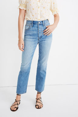 rigid denim bootcut jeans 100 percent cotton