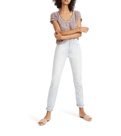 100 cotton skinny jeans high rise