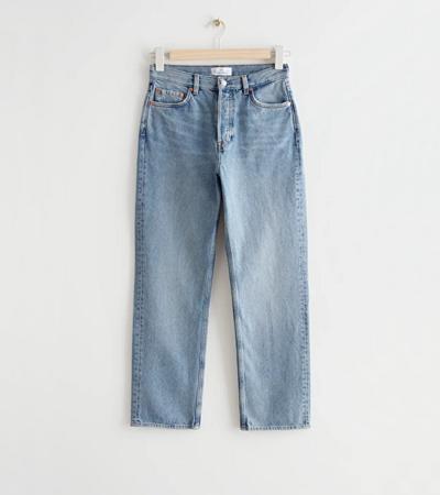 100 cotton rigid jeans for women classic cut