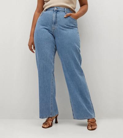 100 cotton jeans plus size