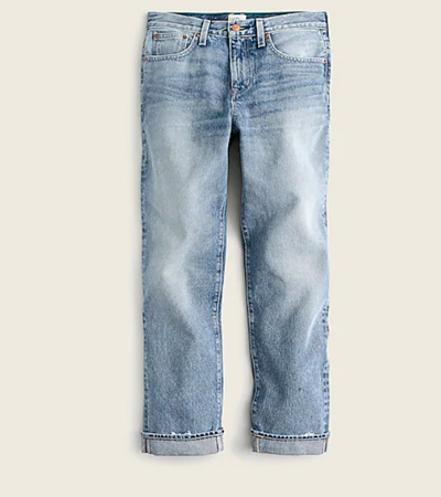 Cotton rigid jeans women