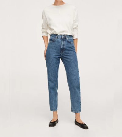 Mom jeans with no stretch