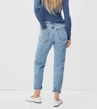 No stretch cotton jeans