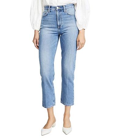 Non stretch denim jeans women